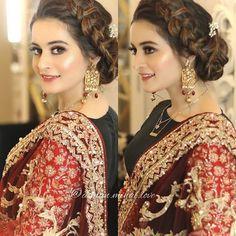 Pre Wedding Party, Designer Wear, Sari, Poses, Hair Styles, How To Wear, Dresses, Fashion, Saree