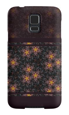 """Pattern ""Abstract flowers"""" Samsung Galaxy Cases & Skins by floraaplus 