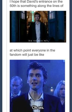 My reaction.