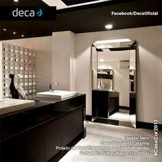 La marca brasileña DECA apuesta por baños con estilo minimalistas y elegantes.