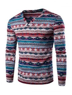 GET $50 NOW   Join RoseGal: Get YOUR $50 NOW!http://www.rosegal.com/men-s-long-sleeves/ethnic-style-striped-long-sleeve-659096.html?seid=6949393rg659096