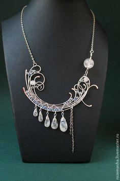 Necklace, handmade beads. Fair Masters - handmade necklace Magellanic Cloud. Handmade.
