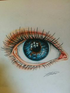 Eye drawing by me