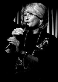 Norwegian jazz singer Karin Krog.  Sexy smooth and recognizable voice.