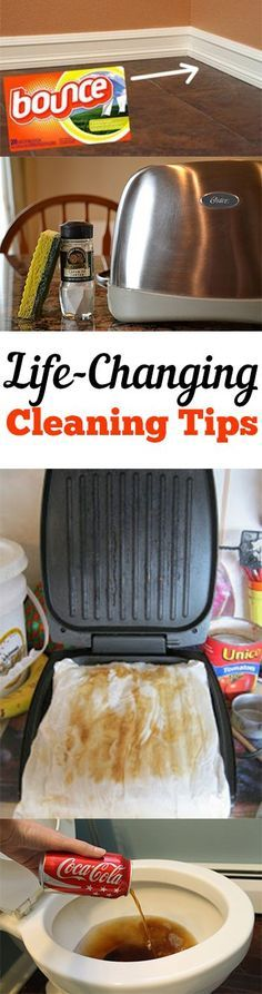 Life-Changing Cleaning Tips. Some I like, others not so much. Discover which ones work best for you.