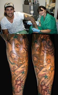 Tattoo arm Melendi