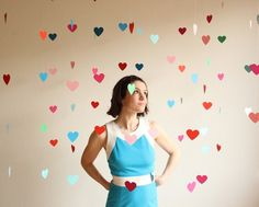 Are you ready for some magical floating hearts as the backdrop for your Valentine's Day ceremony (or any day)? So much whimsy, so many flashbacks to Valentine's Day crafting in elementa…