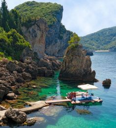 La Grotta Cove, Greece.