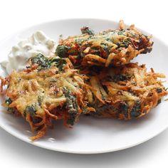 Spano-latkes @keyingredient #cheese #delicious