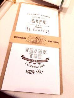 wedding item. の画像|REIKA YOSHIDA official blog