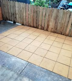 How to Make a Garden Patio Walkway by Laying Paving Slabs. Learn how to make a patio or garden walkway in your own back yard. I provide step-by-step instructions with my own photos for laying the concrete paving slabs on sand to make a walkway.