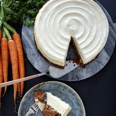 Läcker morotscheesecake med en len färskostfyllning.