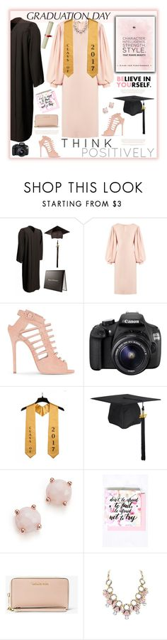 """""""Graduation Day"""" by fassionista ❤ liked on Polyvore featuring Osman, Giuseppe Zanotti, Eos, Lazy Days, Ippolita and MICHAEL Michael Kors"""