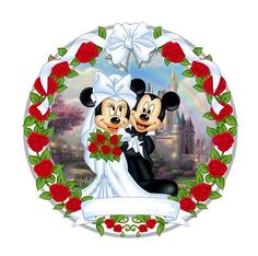 Minnie and Mickey Mouse Wedding Mickey E Minnie Mouse, Mickey And Minnie Wedding, Mickey And Minnie Love, Mickey Mouse And Friends, Disney Mickey, Disney Art, Walt Disney, Disney Stuff, Mickey Mouse Pictures