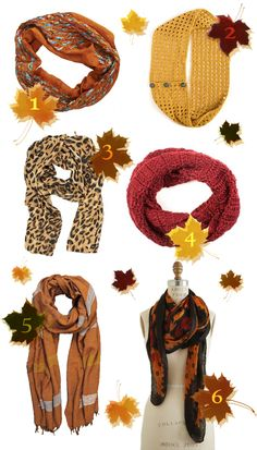 Let's Be Fair: Scarves for Fall
