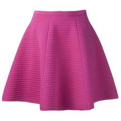 Sonia by Sonia Rykiel Full Knit Skirt found on Polyvore