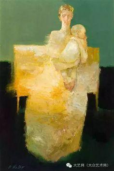 大众艺术网:具象 · 魅力无限的穿越——美国当代具象代表画家 Dan Mccaw 独具风格绘画作品欣赏