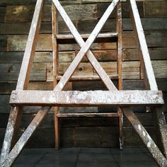 Pięciostopniowa drewniana drabina #loft #vintage #interiors #wyposazeniewnetrz #vintageshop #sklepvintage #poznan