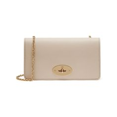 Mulberry Valentine's Day Gifts - Bayswater Clutch Wallet in Buttercream Small Classic Grain