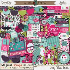 My Teen Diva by Magical Scraps Galore http://www.scraps-n-pieces.com/store/index.php?main_page=product_info&cPath=66_152&products_id=4072