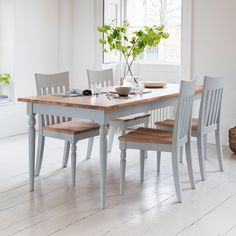 Hudson Living Marlow Oak Dining Set - Modish Living Dining Sets - Reclaimed wood dining sets