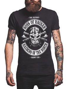 Spiral Direct Mens Rollo Axe Keep Calm Short Sleeve Black Tee T Shirt
