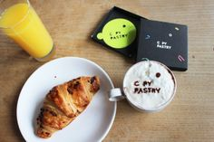 Your LOGO custom coffee stencil