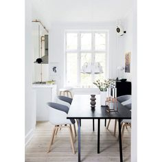 Bright and modern apartment in Frederiksberg ❤ liked on Polyvore featuring backgrounds, pictures, photo, pic and room