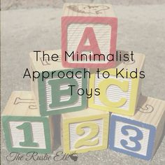 Your kids don't need all that toy junk! Check out this minimalist approach to kids toys and tame that toy clutter once and for all! Kids Toys For Boys, Animals For Kids, Minimalism For Kids, Infant Activities, Activities For Kids, Toy Organization, Organizing Toys, Minimalist Baby, Developmental Toys