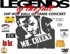 Legends of The Fall Hip Hop Hall of Fame Concert Tour 2015 T Shirts Mr.Cheeks Onyx Rakim EPMD Doug E. Fresh by LongIslandNyceTees on Etsy