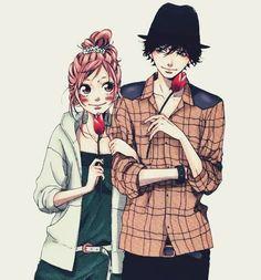 Futaba and Kou - Aoharaido