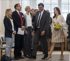Crown Princess Mary attended the Women Deliver conference, Denmark, August 18, 2014