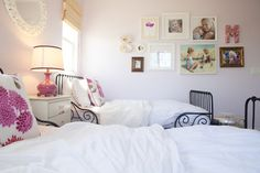 See our sassy little girls room. Get more decorating ideas at http://www.CreativeBabyBedding.com
