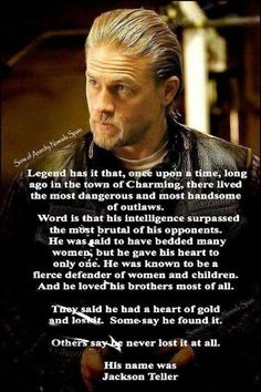 Hi, I'm Shanna and I love,Charlie Hunnam and Sons of Anarchy. Tv Show Quotes, Movie Quotes, Jax Teller Quotes, Anarchy Quotes, Sons Of Anarchy Samcro, Charlie Hunnam Soa, Jamie Fraser, Criminal Minds, Movies