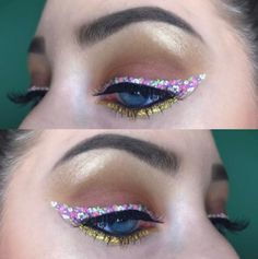 This Floral Eyeliner Trend Will Make You Look Like A Beautiful Fairy