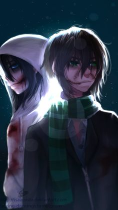 Jeff the Killer & Homicidal Liu