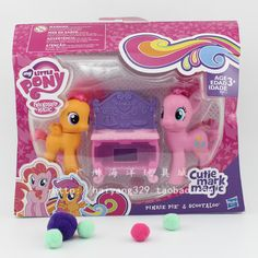 My Little Pony Merch News: Cutie Mark Magic Pinkie Pie and Scootaloo on Taobao My Little Pony Dolls, All My Little Pony, My Little Pony Party, Diy Bookshelf Plans, My Little Pony Backpack, Kawaii Bedroom, Unicorn Rooms, My Little Pony Merchandise, Christmas Toys