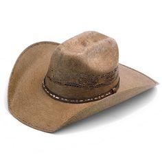 Rodeo King Chocolate Bangora Straw Hat at The Maverick Western Wear