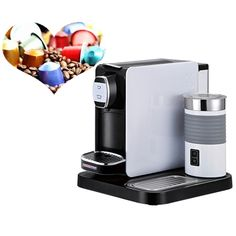 150.00$  Watch now - http://alih5q.worldwells.pw/go.php?t=32768161113 - Automatic point LAVAZZA Capsule Coffee Machine