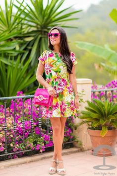 Crimenes-de-la-Moda M - Missguided Dress - Tropical dress