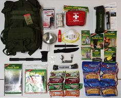 Bug-Out-Bag for Disaster or Emergency. This Bug Out - Grab & Go Backpack by Jeff Mann with Survival-Warehouse-Ranch