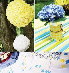 Southern Style Party - maybe for our birthday party this year?