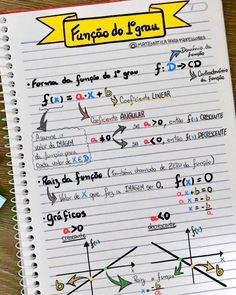 Pin by Larissa Silva on Estudando Physics And Mathematics, Math Formulas, Study Organization, Bullet Journal Notes, Math About Me, School Subjects, Lettering Tutorial, School Notes, Study Inspiration