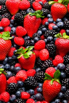 Nothing beats freshly picked berries from the garden.