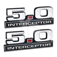 Ford windstar 2001 2003 radio am fm 6 disc cd w auxiliary input 5 0 mustang police interceptor emblems in chrome black red 5 long pair ebay fandeluxe Gallery