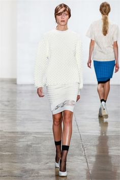 Look 15 Louise Goldin Spring 2013