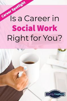 Career Spotlight: Is a Career in Social Work Right for You? We answer your questions about this challenging career field. Career Choices, Job Career, Career Change, Career Advice, Dream Career, Dream Job, Social Work Quotes, Career Quotes, Social Work Practice