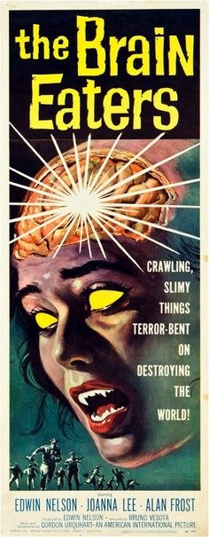 The Brain Eaters Insert Poster (1958)