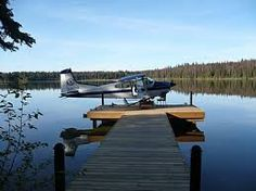 Life on the lake with an airplane