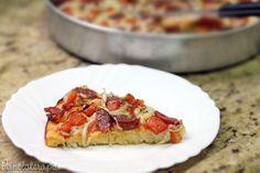 Pizza de Liquidificador ~ PANELATERAPIA - Blog de Culinária, Gastronomia e Receitas